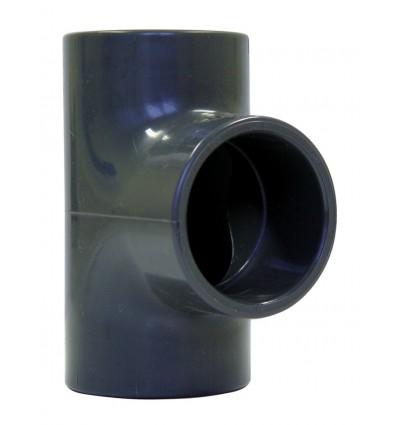 Té à 45° F/F/F PVC PRESSION