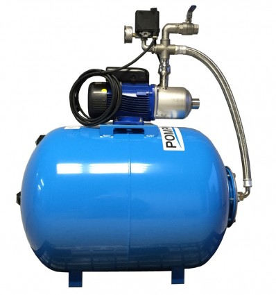 Groupe surpresseur 150 L avec pompe multicellulaire e-HM