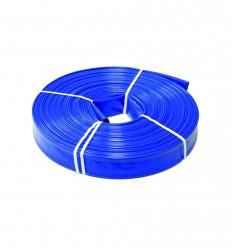 Tuyau enroulable à plat PVC double couche - diamètre 50 mm / PS 8.5 bar (au ml)
