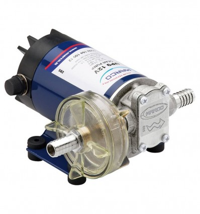 Pompe électrique auto-amorçante 12/24V - Transvasement de gasoil, antigel - UP9