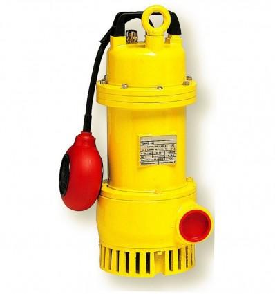 Pompe de drainage en fonte eaux boueuses, sableuses, DREN 100 monophasé avec flotteur - Débit max 18 m3/h - hauteur max 12 m