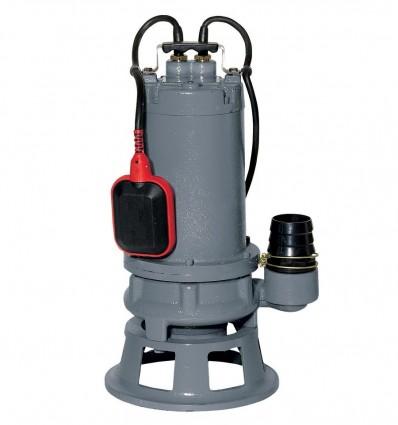 Pompe broyeuse en Fonte, monophasé avec flotteur, puissance 0.75 Kw, relevage eaux chargées habitation