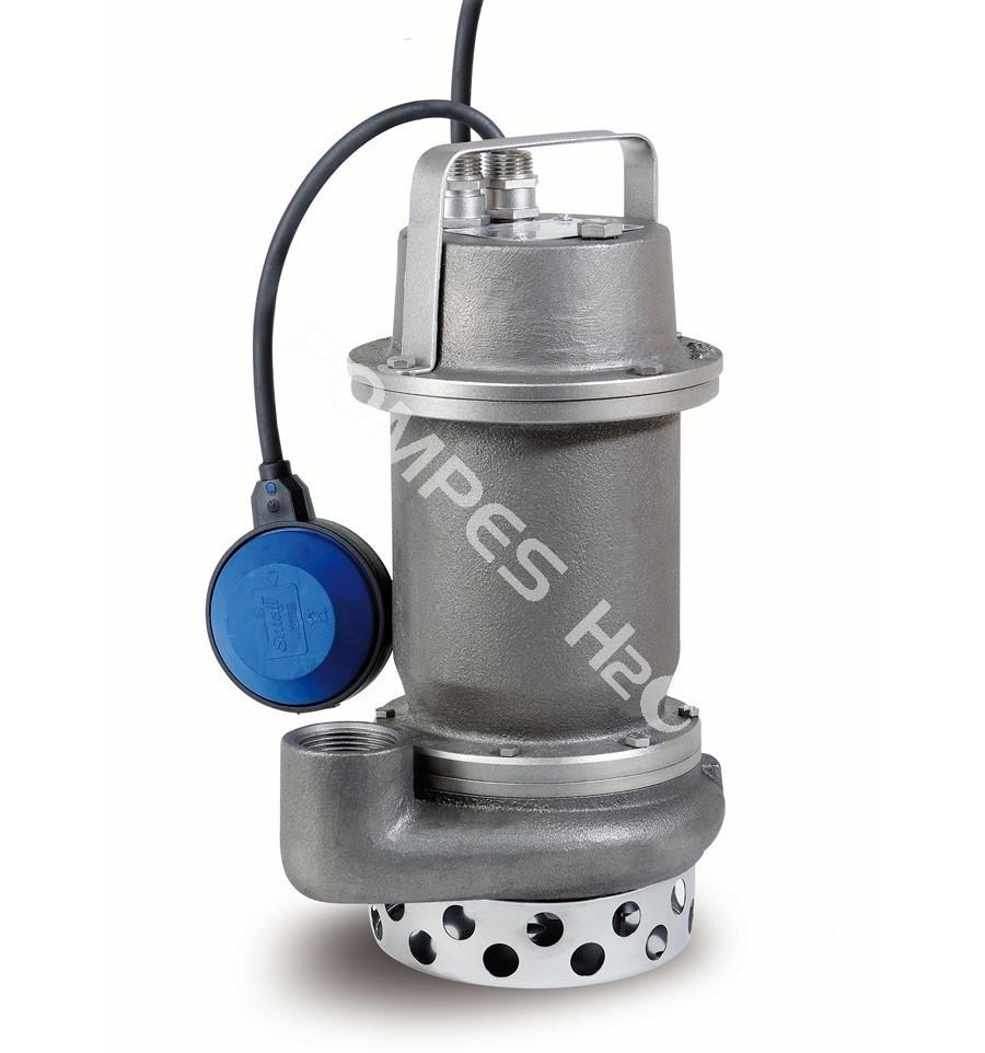 pompe de relevage toute inox 316 pour liquides chimiques et corrosifs monophas avec flotteur. Black Bedroom Furniture Sets. Home Design Ideas