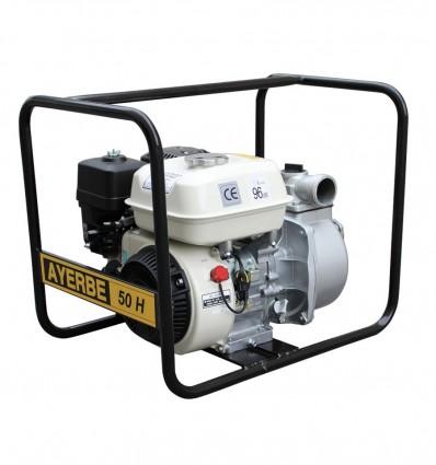 Motopompe essence 5.5 CV eaux claires AYERBE 50 H