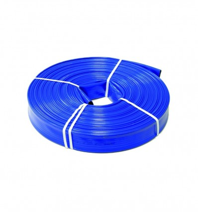 Tuyau enroulable à plat PVC double couche - diamètre 90 mm / PS 7 bar (au ml)