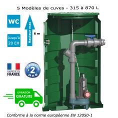 Station de relevage eaux chargées - Calpeda Calidom 0.55 Kw