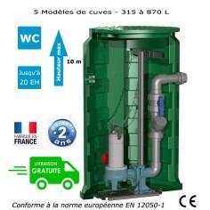 Station de relevage eaux chargées - Calpeda Calidom-PA 1.10 Kw