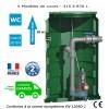 Pump station 1 pump vortex impeller (1.10kw - 230V)
