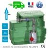 Station de relevage eaux usées domestique pompe vortex, passage 25 mm Puissance 0.25 Kw monophasé