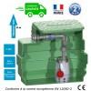 Station de relevage eaux usées domestique pompe vortex, passage 25 mm Puissance 0.45 Kw monophasé