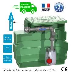 Poste de relevage eaux claires ou légèrement chargées (0.25 Kw - 230L)