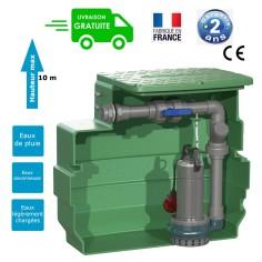 Poste de relevage eaux claires ou légèrement chargées - puissance 0.55 Kw monophasé 230 V