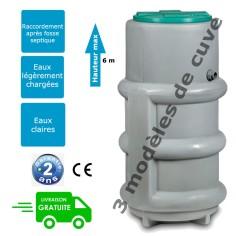 Poste de relevage des effluents septique - PRCE