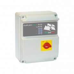Coffret de commande et protection 2 pompes de relevage triphasé DUPLEX-UP