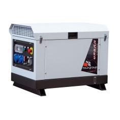 Groupe électrogène diesel monophasé insonorisé URBAN 5.6 Kw