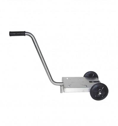Chariot de transport en inox pour pompe Liverani MINI, MIDEX, MINIVERTER