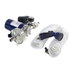 Kit pompe électrique 12/24V lavage pression 5 bars