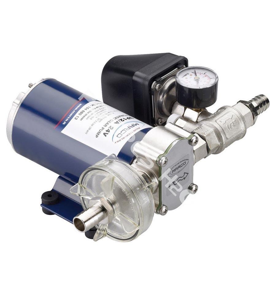 Groupe surpresseur auto amor ant 24 volts d bit 36 l min pression 2 5 bars marco up12 a - Pompe a eau surpresseur ...