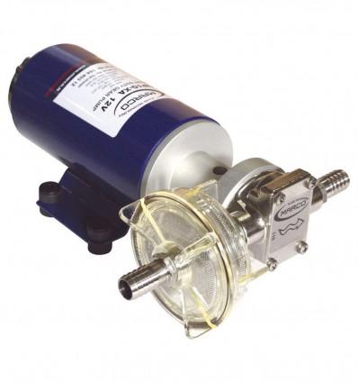 Courbes pompe herbicide 12V-24V (UP10-XA) 7 bar - 18 L/min
