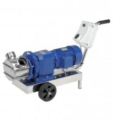 Pompe à rotor flexible