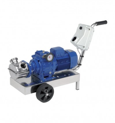 Pompe à rotor flexible avec variateur vitesse - VA MINOR-MAJOR-MAXI