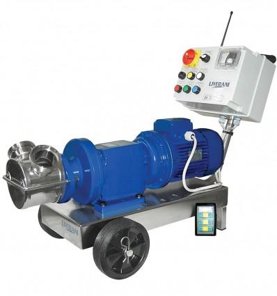 Pompe à rotor flexible avec variateur de vitesse - INV MINOR