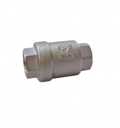 Clapet anti-retour 2 pièces F/F INOX 316