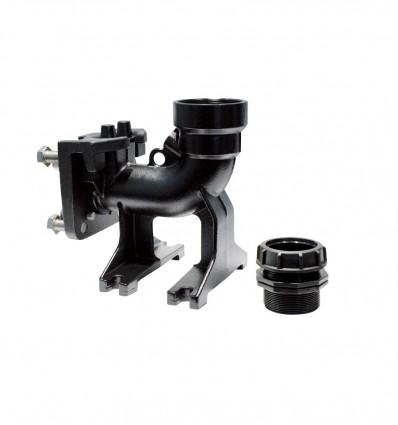 Pied d'assise en fonte sortie horizontale DAC 32-50/G50H