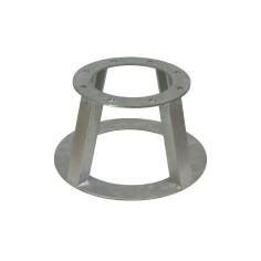 Embase acier galvanisé pompe ZENIT
