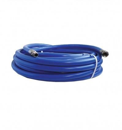 Flexible de lavage PVC renforcé avec raccord inox 316L