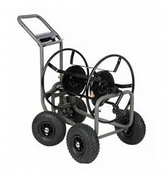 Dévidoir métal 4 roues orientables - 4 X 4
