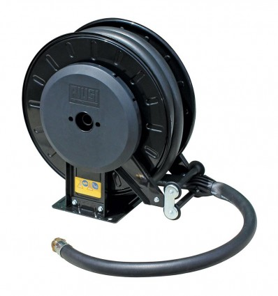 Enrouleur pour distribution gasoil & huile - avec tuyau