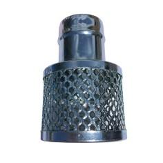 Crépine galvanisé avec manchon cannelé DN50 à DN200