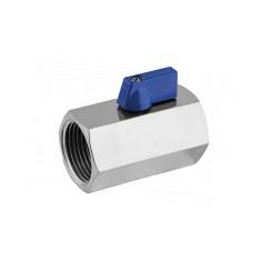 Mini vanne sphérique inox 316 F/F
