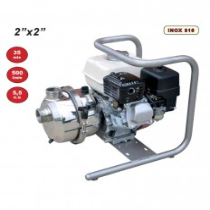 Motopompe pour liquides agressifs, eau de mer - MARINA 50