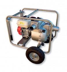 Motopompe eaux chargées essence sur chariot KTH 50