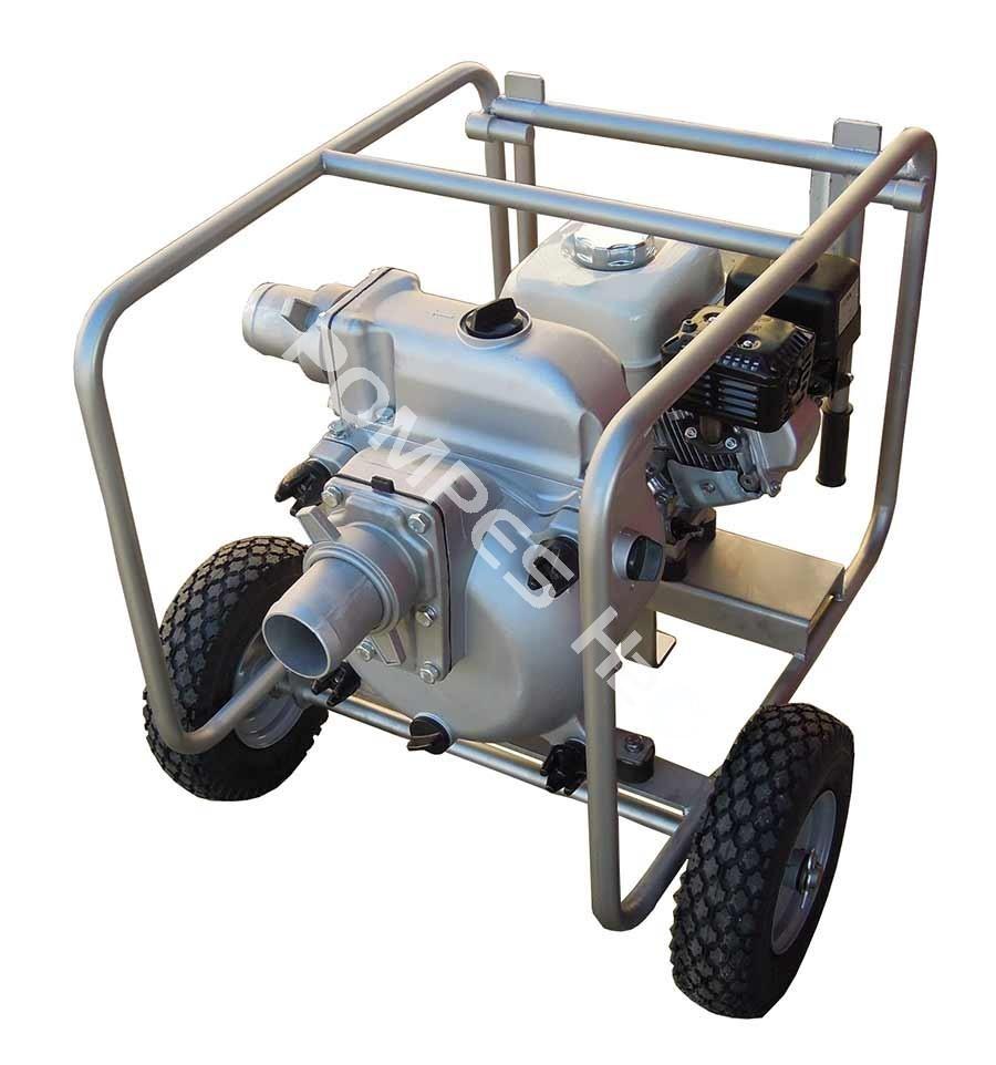motopompe eaux charg es essence sur chariot kth 80. Black Bedroom Furniture Sets. Home Design Ideas