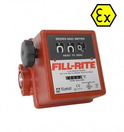 Compteur litre carburants FILL RITE mécanique