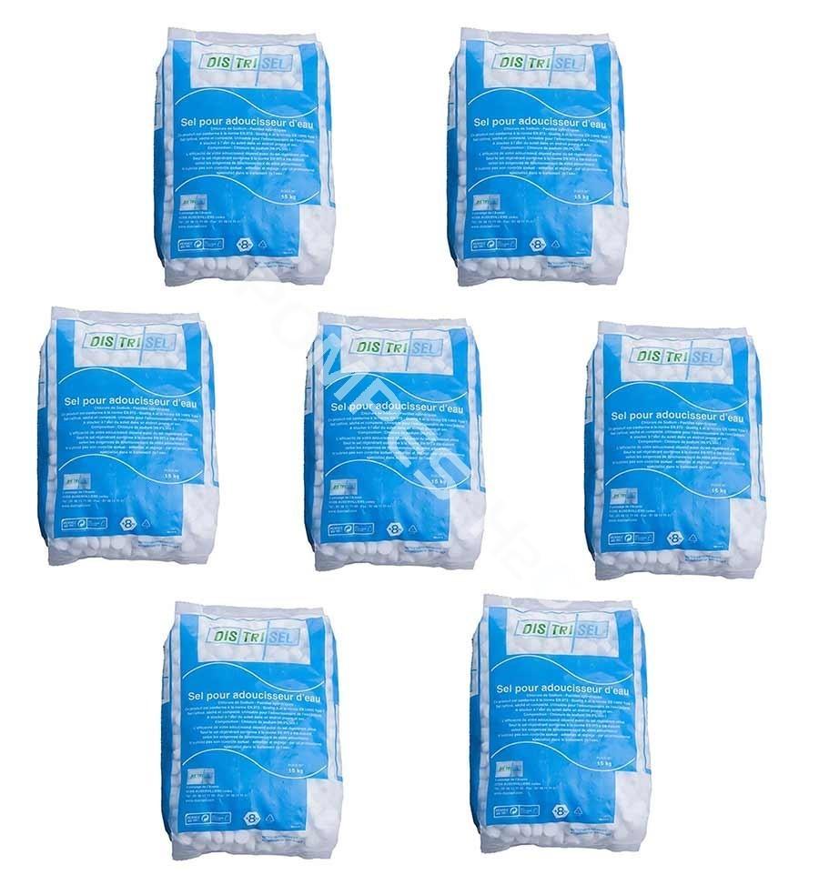pastilles de sel adoucisseur d 39 eau distrisel 5 x 15 kg pompes h2o. Black Bedroom Furniture Sets. Home Design Ideas