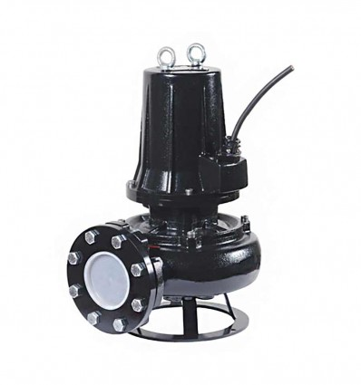 Pompe de relevage Fonte roue vortex DN80 - KV (4 pôles)