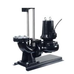 Kit pompe de relevage Fonte roue vortex DN80 - PA-KV (4 pôles)