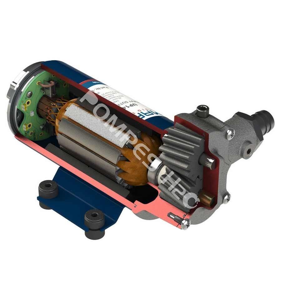 Pompe lectrique 12 et 24 volts d bit 46 l min pompe up14 pv - Pompe auto amorcante ...