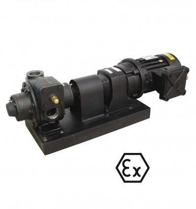 Pompe de transfert carburants haut débit ATEX