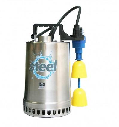 """Pompe de relevage eaux claires DR STEEL TCW - Puissance 0.25 Kw et 0.37 Kw - Refoulement 1"""" 1/4"""