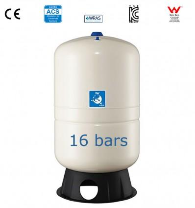 Réservoir à membrane vertical Max 16 bar