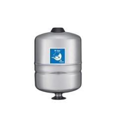 Réservoir à membrane vertical inox GWS M-Inox 8 litres