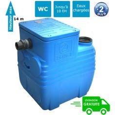 Station de relevage eaux chargées 150 L avec pompe broyeuse