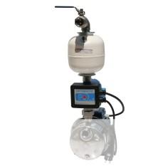 Kit gestionnaire pompe monophasé avec réservoir en ligne 3 litres
