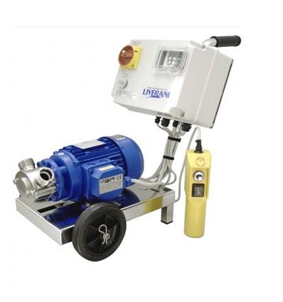 Pompe à rotor flexible avec variateur vitesse INV MIDEX