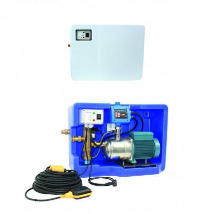 Kit gestionnaire récupération eau de pluie - eau de ville - GEP MAT 18 V1 - GEP MAT 18 V2
